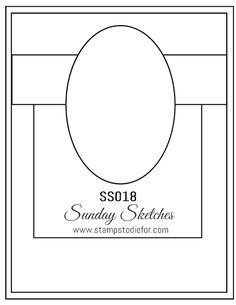 Sunday Sketches SS018 - That's the Tag Stamp Set by Stampin' Up!