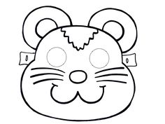 animals mask template coloring pages printable animals masks coloring page cat mask coloring pagesgoat mask coloring pagescow mask coloring pagesdog mask