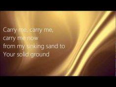 Carry Me [Lyrics] LIVE - Josh Wilson