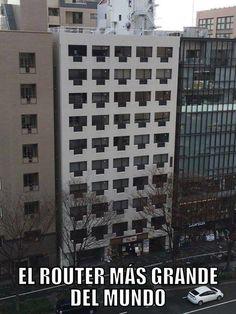 El router más grande