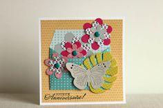 Scrapbooking : set de cartes fleuries / Créations de Mélanie de l'équipe créative