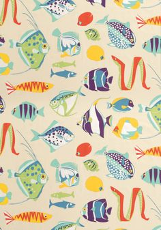 Conzumel Wallpaper in Tropical and Beige