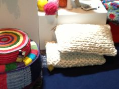 Home decor at Design Indaba, great in both knit and crochet!