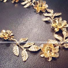 Fashion Head Band Metal Flower And Leaves Decoration 4994046 2017 – $3.99