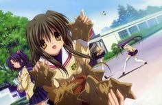 clannad themed - clannad category