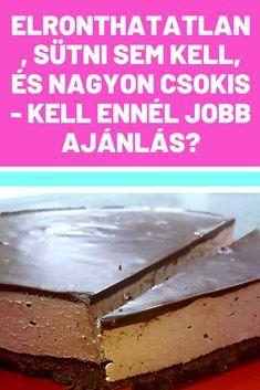 Hungarian Recipes, Sheet Pan, Biscotti, Girly Things, Fudge, Tiramisu, Mousse, Food And Drink, Keto