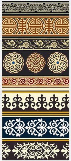 Mongolian Patterns