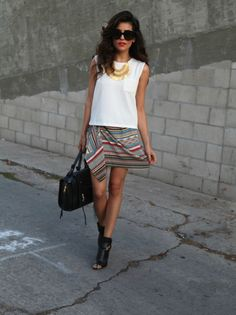 greylin collection, fall style, tribal trend 2014, tribal skirt, how to wear skirt, chic style, outfit ideas, hair ideas, makeup ideas, affordable finds, black booties, shoedazzle, just fab, black satchel bag, women's fashion, daily street style, blogger, sazan, barzani, celine sunglasses, shop, gold coin necklace, kurdistan, los angeles style, mango top, photography, beauty ideas, bold beauty, celebrity inspired,bold lips,  fashion inspiration
