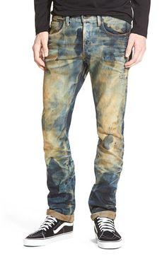 PRPS 'Demon - Juliet' Slim Straight Leg Jeans (Indigo) available at #Nordstrom