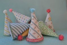 vintage birthday party hats