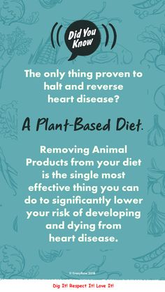 b60ade054ce The only diet known to prevent and reverse heart disease? A Plant-Based diet