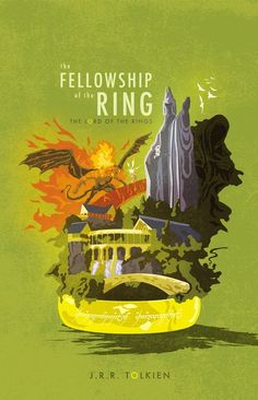Geek Art Gallery: Posters: Lord of the Rings Trilogy, Phil Giarrusso