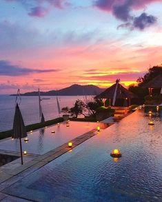Sunset in Bali - Indonesia ✨✨ Picture by @tiniihitakara✨✨