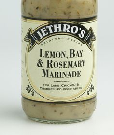 Marinades, sauces and vinaigrettes | Jethro's