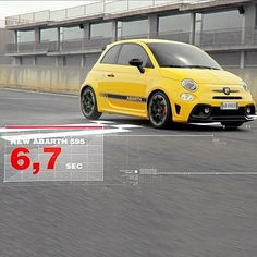 Can you achieve the same performance? #595challenges #Abarth #595Competizione #Performance #Performanceinyourhands