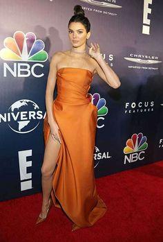Kendall e Kylie Jenner roubam a cena em festa após Globo de Ouro, veja as fotos! - Estrelando