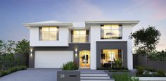The Sterling | Two storey home design Perth | Webb & Brown-Neaves