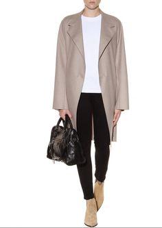 Acne 'Jensen' boots - Balenciaga bag // Mytheresa.com