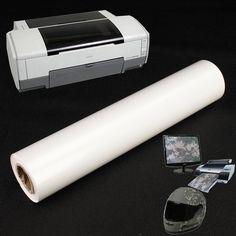 Blank Printing Film For Hydrographic Inkjet Printer Water Transfer Print
