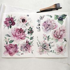 Watercolorist: @kadantseva_natalia    #waterblog #акварель #aquarelle #drawing #art #artist #artwork #painting #illustration #watercolor #aquarela    #Regram via @watercolor.blog