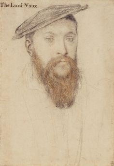 Thomas, 2nd Baron Vaux (1509-1556) by Hans Holbein the Younger