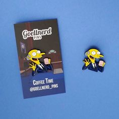 #Repost @goellnerd_pins  It's coffee time somewhere! Mr. Burns Coffee Time pins are now available at goellnerdpins.bigcartel.com get yours today!  #mrburns #coffee #caffeine #caffeineaddict #Simpsonspins #simpsons #enamelpins #bootlegbart #pingame #pinstagram #pinsofig #pinsofinstagram #enamelpin #lapelpin #hatpin #90s #brooch    (Posted by https://bbllowwnn.com/) Tap the photo for purchase info.  Follow @bbllowwnn on Instagram for great pins patches and more!