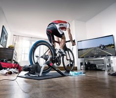 The real #IRONMAN feeling indoors with #Tacx #IRONMAN trainer. #Trainingcave