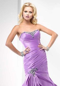 Elaborate Spring Fit N Flare Scoop Taffeta Prom Dress - Lunadress.co.uk