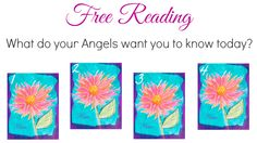 What do your Angels want you to know today? Pick a card to find out!