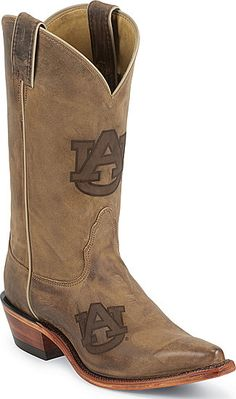 Auburn Boots!!!!!  Hubby would not care what they cost!!!