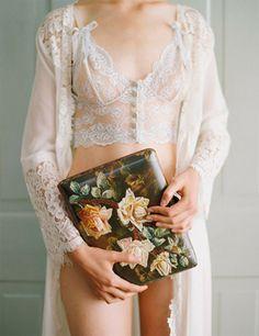 nuisette de mariée légère