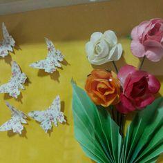 Quadro de origami