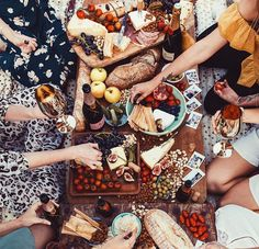 Beat memories are created with friends and food