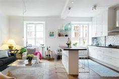 small apartment kitchen island