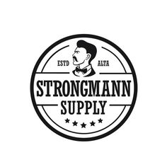 Strongmann Supply - Rugged Logo For Men's Beard Care Brand We are a men's care brand. Our launch will be focused around men's shaving and beard care products. I would like some...