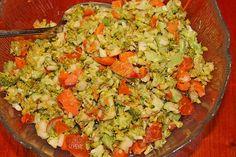 Gesunder Rohkostsalat, ein leckeres Rezept aus der Kategorie Früchte. Bewertungen: 1. Durchschnitt: Ø 3,3.