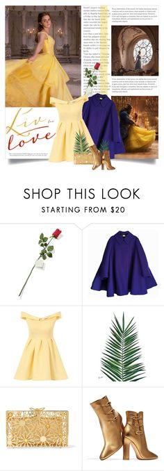 """Beauty and the Beast 2017"" by indigo-summer ❤ liked on Polyvore featuring Emma Watson, Hanky Panky, Acne Studios, Chi Chi, Nika, Charlotte Olympia and Gianvito Rossi"