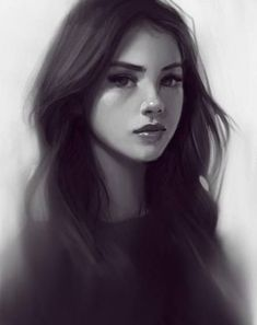 Realistic Drawings Procreate drawing :) I made this a couple months ago but never posted :) Digital Art Girl, Digital Portrait, Portrait Art, Character Portraits, Character Art, Character Inspiration, Realistic Drawings, Art Drawings, Realistic Eye