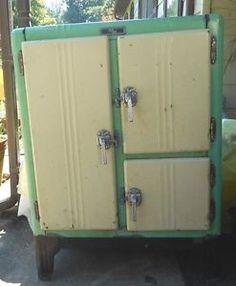 Frigidaire Refrigerator, Green Kitchen, 1930s, Locker Storage, Google Search, Color, Home Decor, Decoration Home, Room Decor