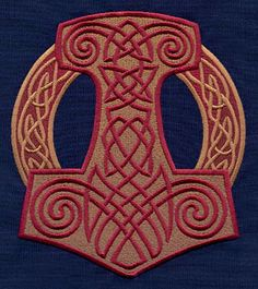shield patterns on pinterest thors hammer celtic and