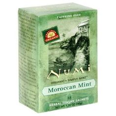 Numi Organic Tea Moroccan Mint - Full Leaf Herbal Teasan in Teabags, Box (Pack of *** You can get additional details at the image link. (This is an affiliate link) Green Tea Supplements, Numi Organic Tea, Mint Tea, Post Date, Herbal Tea, Program Design, Gourmet Recipes, Moroccan, Herbalism