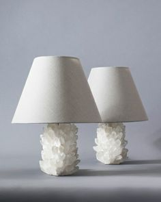 Shades of light rock crystal table lamp dwellin pinterest buy rock crystal lamp by liz obrien made to order designer lighting from dering halls collection of table lighting mozeypictures Gallery