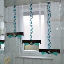 Badezimmer Gardinen Muster | Die 19 Besten Bilder Von Bad Gardinen Curtains Blinds Und Shades