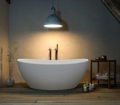 Vienabadekar i hvit matt kompositt Bathtub, Bathroom, Vienna, Standing Bath, Washroom, Bathtubs, Bath Tube, Full Bath, Bath
