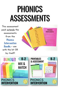 Phonics Progress Monitoring - Ready for the fastest data collection system? There are 32 QUICK phonics assessments that cover K-2 scope and sequence. Everything you need for progress monitoring in ONE organized place! From Positively Learning #progressmonitoring #phonics #assessment