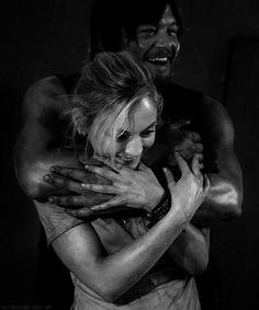 Norman Reedus & Emily Kinney // Daryl & Beth // The Walking Dead