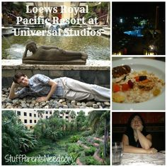 Why yes, a trip to Universal Studios  CAN be completely relaxing, if you know where to stay! Loews Royal Pacific Resort is an island oasis!
