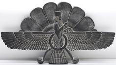 Faravahar Persian Art Relief | Flickr - Photo Sharing!