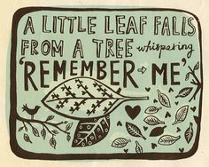 A sweet thing to think about this time of year for so many people who have lost loved ones <3