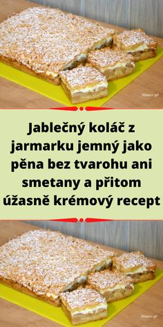 Bread Dough Recipe, Czech Recipes, Cereal, French Toast, Cooking Recipes, Breakfast, Food, Morning Coffee, Chef Recipes